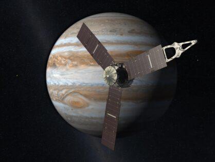 Die Erkundung des Planeten Jupiter mit der Raumsonde Juno