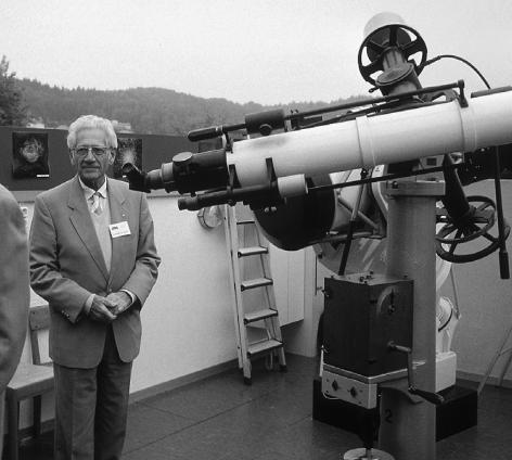 Andreas Tarnutzer 1999 in der Sternwarte Hubelmatt in Luzern