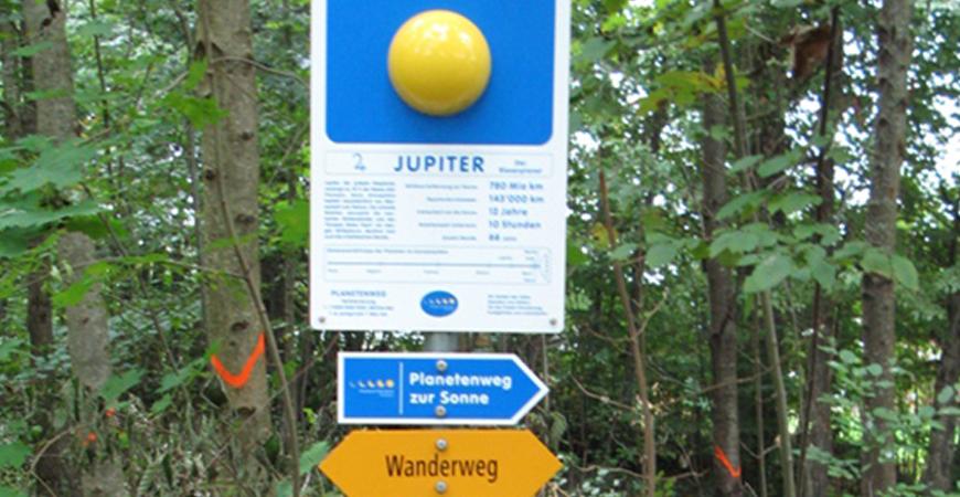 Planetenweg Kreuzlingen Nord