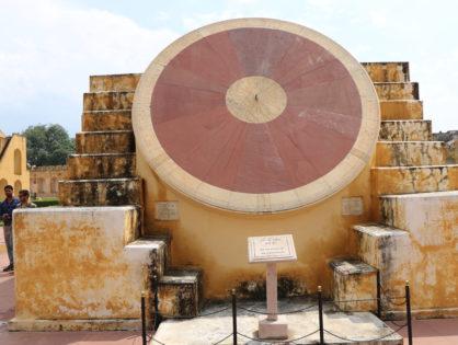 Das Observatorium in Jaipur / Indien